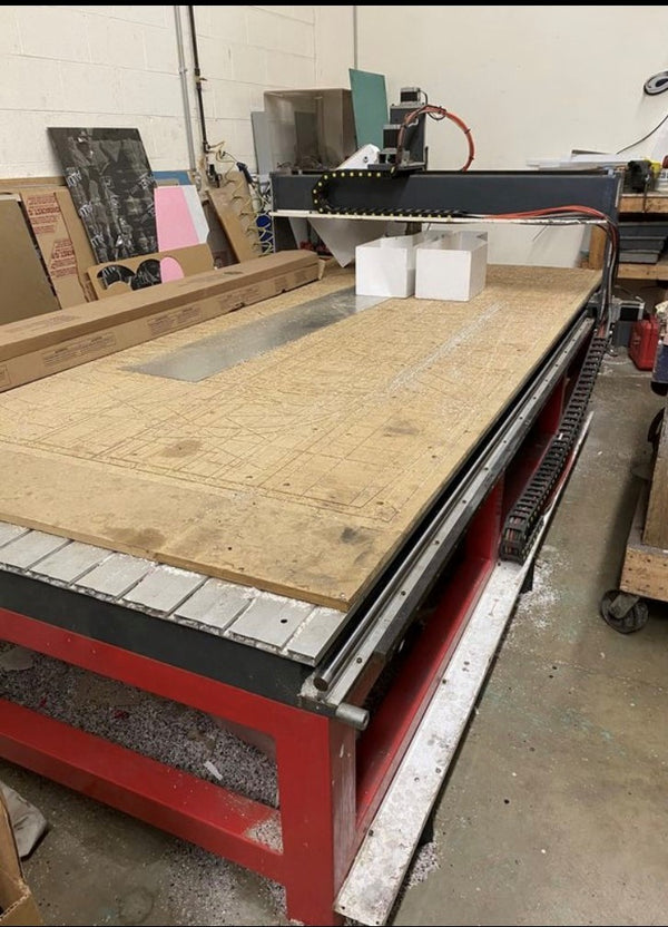 5' x 10' Industrial Machine Craftsman 510 CNC Router, 2008 - 24,000 RPM