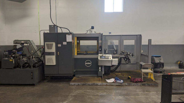 Mollart Omnisprint LD2-750 CNC Gun Drill, 2009 - High Pressure Coolant, Chiller