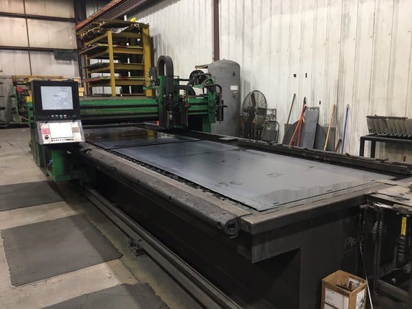 7' x 22' Sector Prostar PRS-100 CNC Plasma Table, 2009 - Hypertherm HPR400XD, 400 Amps