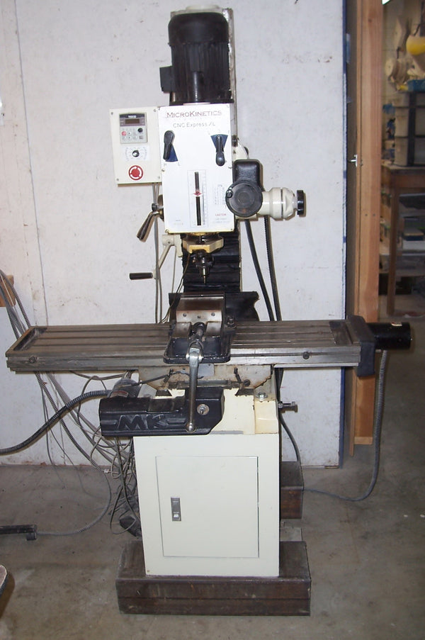 Micro Kinetics CNC Express XL Milling Machine, 2010 - With Tooling