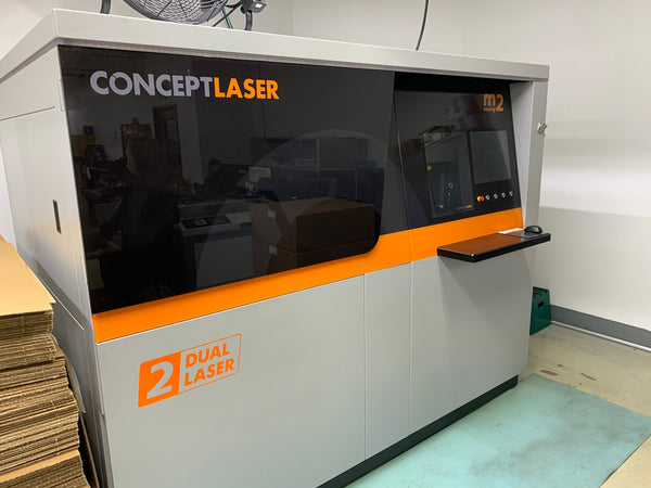 CONCEPTLASER M2 CUSING MULTILASER MACHINE - 400 WATT 3D METAL PRINTER, 2015