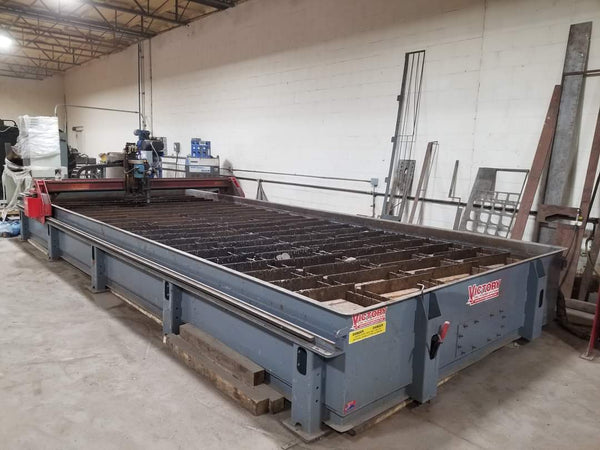 10 'x 20' Victory XT1020 High Definition CNC Plasma- Refurbed in 2018, Water Table