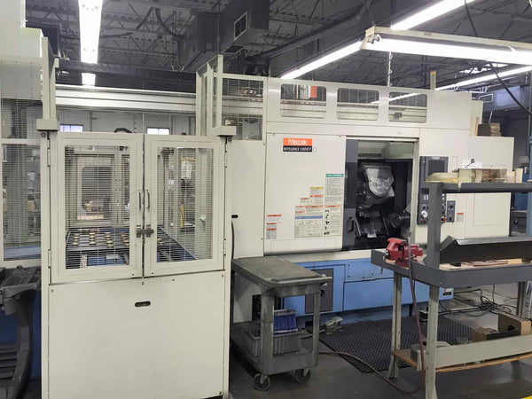 Mazak Integrex 100SY, 2001- Live Tools, Sub Spindle, Gantry, CTS, With Tooling