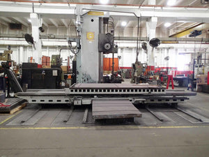"Giddings & Lewis Saddle Type Horizontal Boring Mill, 1971- 129"" Travel"