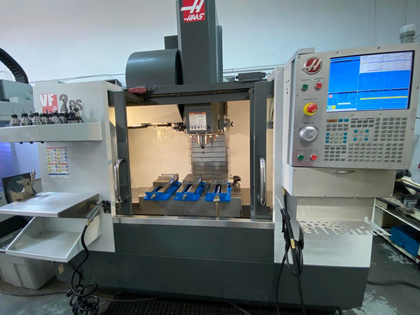 Haas VF-2SS VMC, 2015- WIPS, 4th Axis ready, HSM