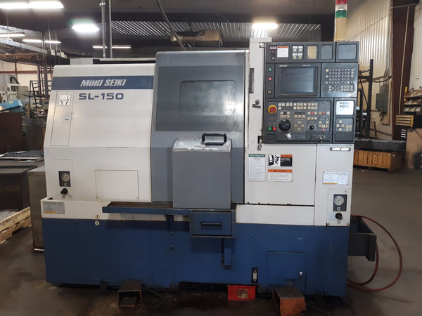 Mori Seiki SL-150 CNC Turning Center with Fanuc Control - Live Tooling Included