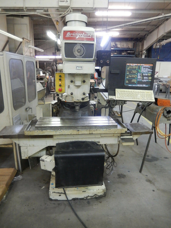Bridgeport Series 2 CNC Knee Mill, 1980 - 4 HP, with Extra Parts