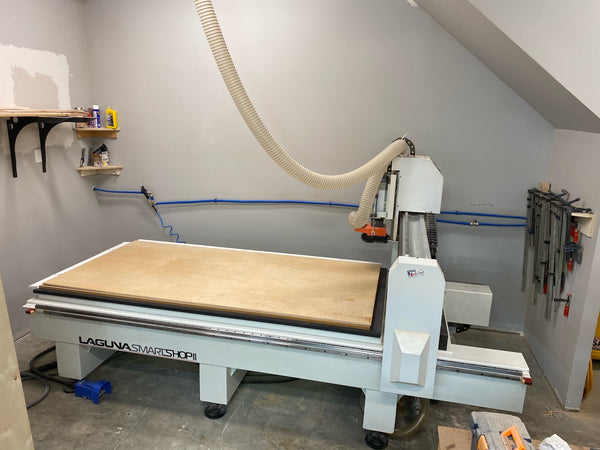 Laguna Smartshop II 4x8 CNC Router, 2019 - Laguna Dust Collection System