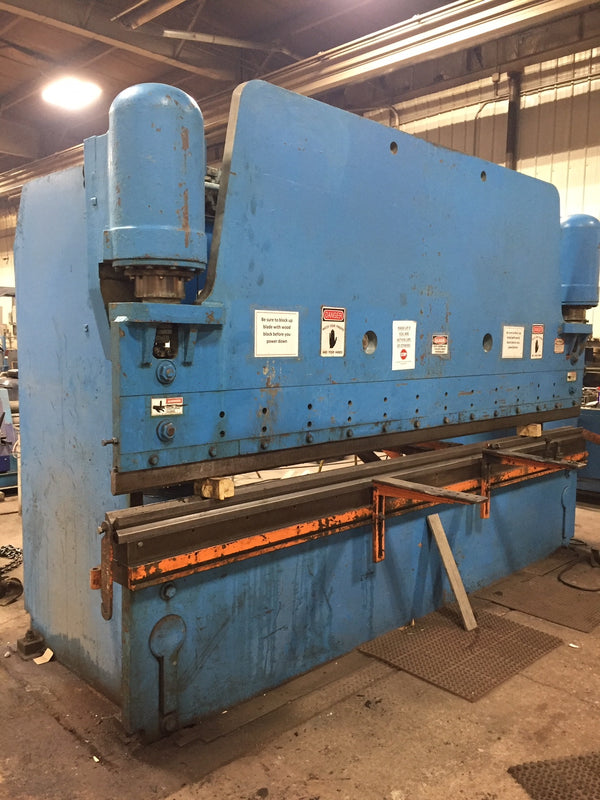 225 Ton x 14' Pacific K225-14 Hydraulic Press Brake, 1975