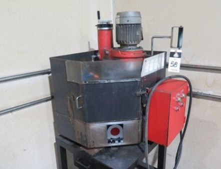 "Amada TEG-160ES Punch & Die Grinder, 1996 - with 6"" 3-Jaw Chuck, Coolant"