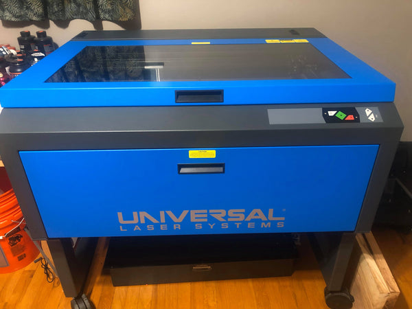 "32"" x 18"" 60 Watt Universal Laser Engraver System VLS6.60, 2017-Great Shape Used In Home"