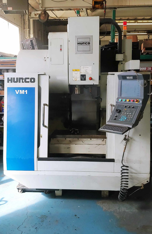 Hurco VM1 VMC, 2007- WinMax, Software - 3D Mold, Tool Library, DXF, Rigid Tap, Low Hours
