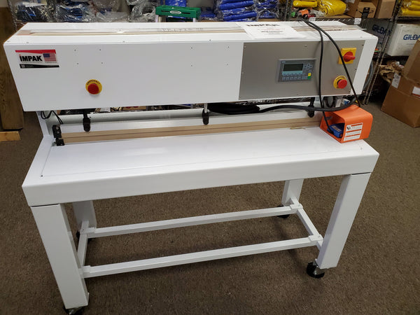 "IMPAK 48"" LFIG with iS2 Touch Pad Seam Sealer, 2017- Never Been Used"