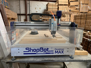 Shopbot Desktop Max 110V, Includes New Laptop for Programming