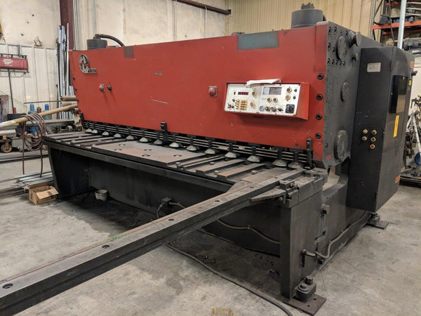 "1/2"" x 10' Amada H-3013 Shear, 1987- Programmable Back Gauge"