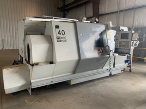 Haas SL-40TB, 2006 - Big Bore, Tailstock, Video Available