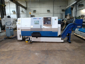 Doosan/Daewoo Puma 230MS CNC Lathe, 2001 - Live Tooling, Sub Spindle, Video, C Axis