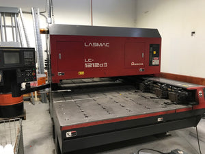 2000 Watt Amada Pulsar LC1212 CO2 Laser, 1996- Torit Dust Collector, Chiller