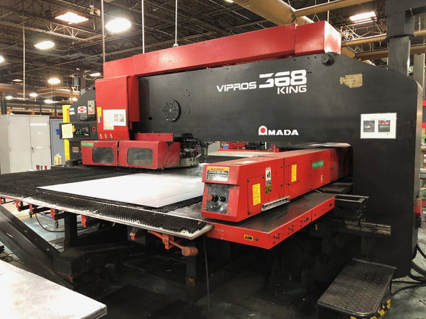33 Ton Amada Vipros 368 King CNC Turret Punch, 1996