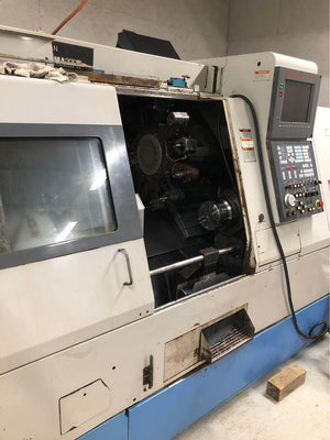 Mazak Super Quick Turn 18MS, 1996 - Sub Spindle, LNS Barfeed 12 Ft.