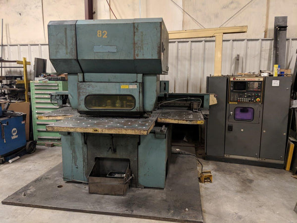 33 Ton Amada Octo-334 CNC Turret Press, 1986
