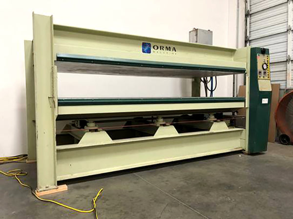 1997 Orma Heated Honeycomb Panel Press