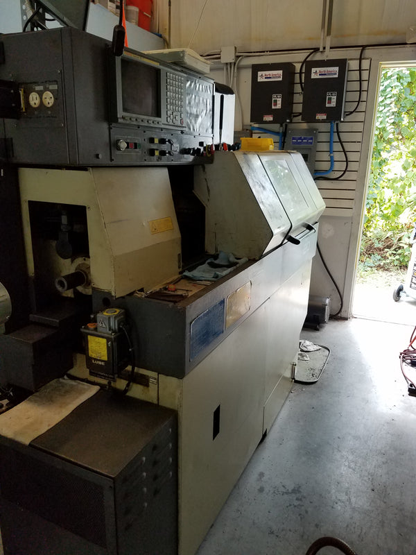1997 Star SR-20 CNC Lathe, LNS Bar Feeder