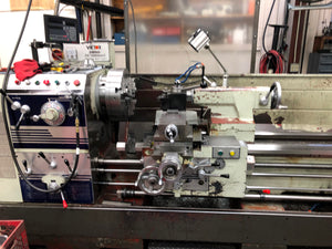 "1999 Victor 2680T 29.5"" x 80"" Gap Bed Lathe"