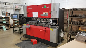 "88 Ton X 8' Amada RG-M2 8024 CNC Press Brake, 2010 - 3 Axis, 10.4"" LED Touch Screen"