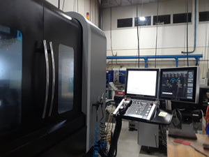 Hurco VMX 60Ui CNC VMC, 2015 - 5 Axis Simultaneous, Probing, CTS, Video