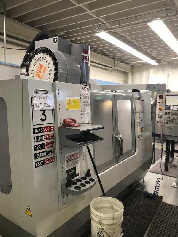 2007 Haas Super VF-3 VMC - Thru Spindle Coolant, 12K RPM, 4&5 Axis Ready
