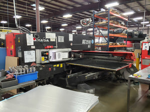 "22 Ton Amada AC2510NT CNC Turret Punch, 2009- 48"" x 100"" Table, 45 Stations"