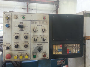 Daito DNE 700 Structural Drill, 1994 -Manual CNC, Power Rollers