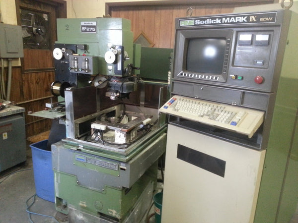 Sodick BF275 Wire EDM Machine, 1988