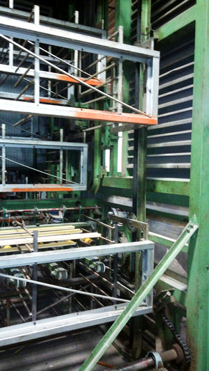 1990 Makor SCS Primary Paint Line/Booth Paint Conveyor