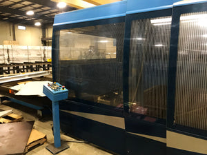 3000 Watt Prima Domino 1530HS 5-Axis CO2 Laser, 2004 - 5' x 10' Table