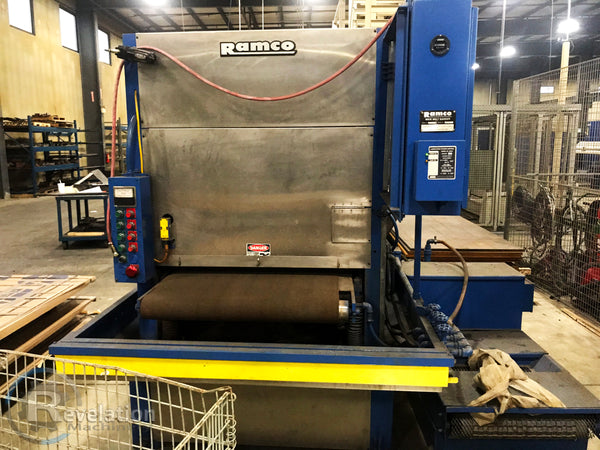 1998 Ramco 37T60 Graining/Deburring machine