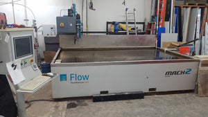 2016 Flow Mach 2 WaterJet 6X10 Table
