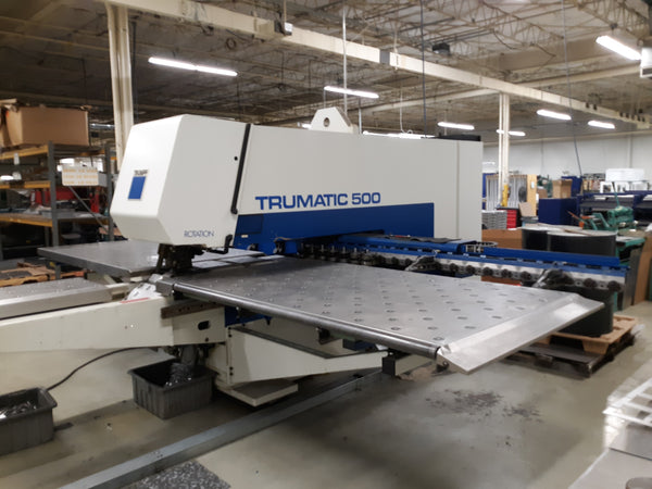 Trumpf Trumatic 500 Turret Punch, 2000