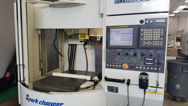 2003 Kitamura Mycenter Spark Changer 2XI Vertical Machining Center - Video