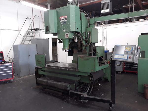 Pratt & Whitney Trimac XV CNC Vertical Machining Center