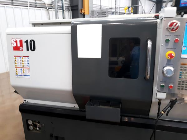 2013 Haas ST-10 With Servo Bar 300