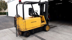 12,000 Lb. Hyster Electric Forklift