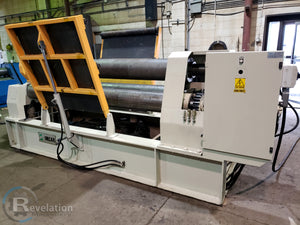 IMCAR SIHR 12/4 Plate Roller, 2009, With Adjustable Overhead Support  - Video Available