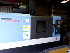 2010 Doosan DNM 650 Low Hours, 4th Axis Included