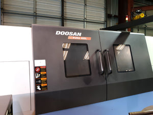 Doosan Puma 400 LC CNC Lathe, 2011 - Steady Rest, Installed 2012, Low Hours