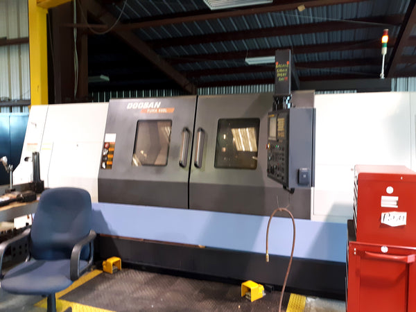 2012 Doosan Puma 400 LC With Steady Rest