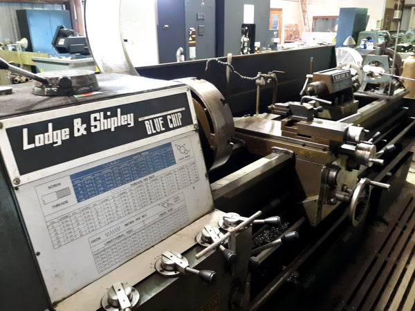 "Lodge & Shipley Blue Chip 18"" x 118"" Manual Lathe"