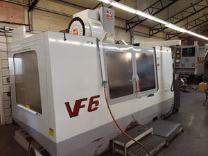 Haas VF-6/40 VMC, 2001- Chip Auger, Rigid Tap, Side Mount Tool Changer
