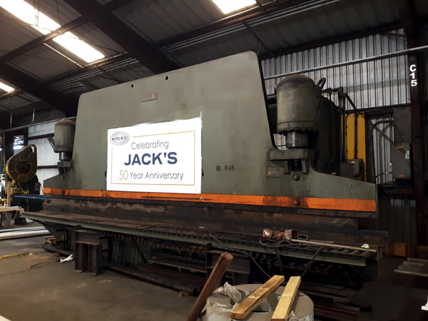 1966 Pacific 400 Ton x 25ft. Press Brake